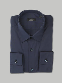 Z Zegna Soft Touch Shirt (Navy)