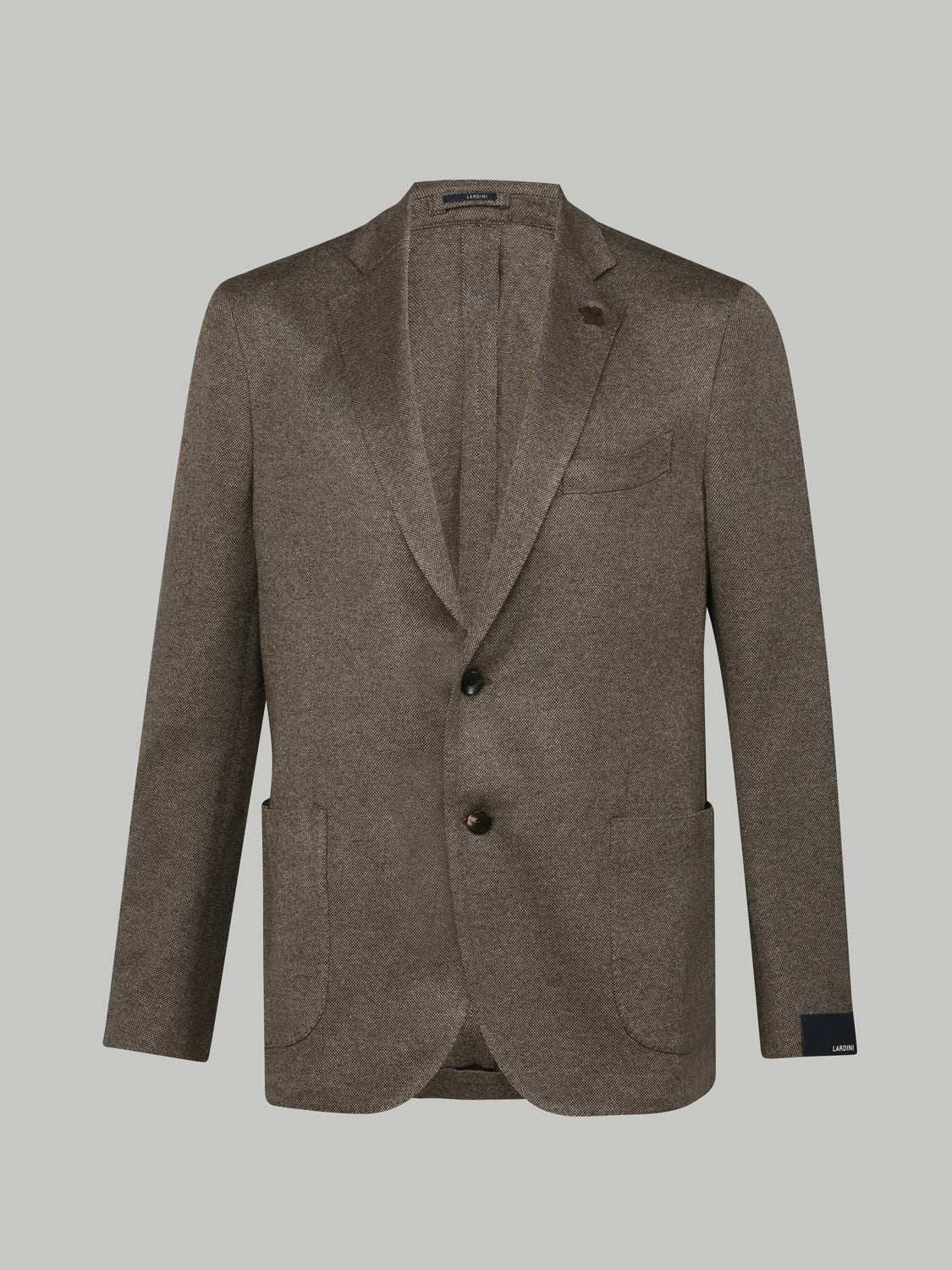 Lardini Silk and Cashmere Blazer (Brown) - Union 22