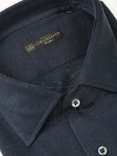 Corneliani Linen Shirt (Smokey Blue)