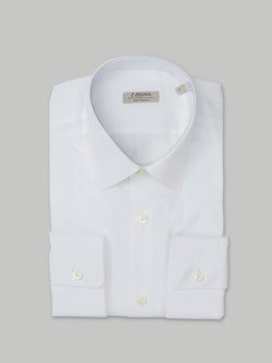 Z Zegna Soft Touch Shirt (White)