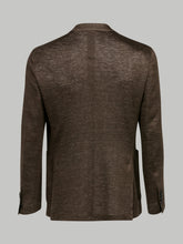 Lardini Linen Blazer (Brown) - Union 22
