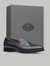 Corneliani Loafer (Burnished Navy)