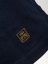 Corneliani Striped Polo (Navy)