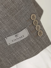 Canali Silk and Linen Suit (Grain)