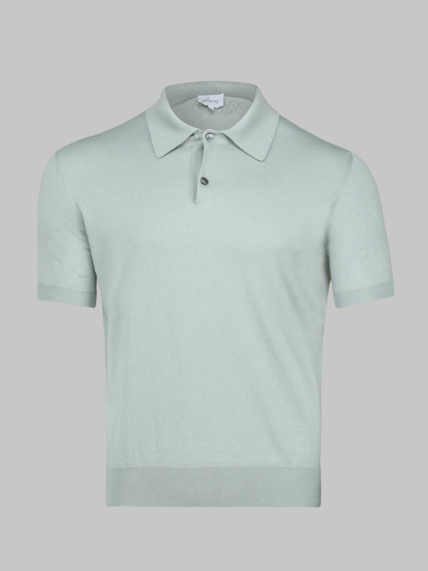 Brioni Silk and Wool Polo (Teel) - Union 22