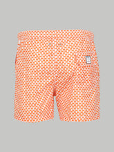 Fedeli Madeira Harlequin Check (Orange)