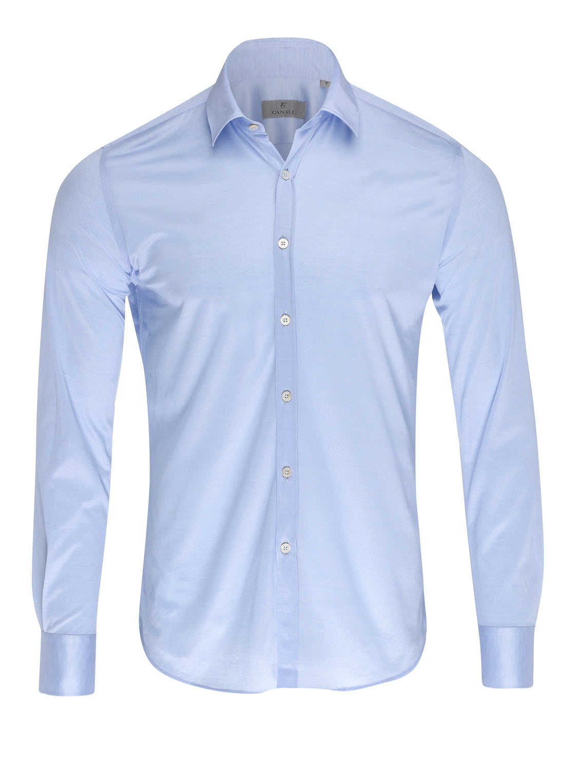 Canali Jersey Shirt (Sky Blue) - Union 22