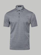 Ermenegildo Zegna Micro Diamond Polo (Grey)
