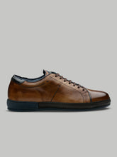 Corneliani Derby Low Top Sneaker (Brown) - Union 22