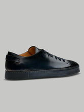 Santoni Full Leather Derby Low Top (Midnight Blue) - Union 22