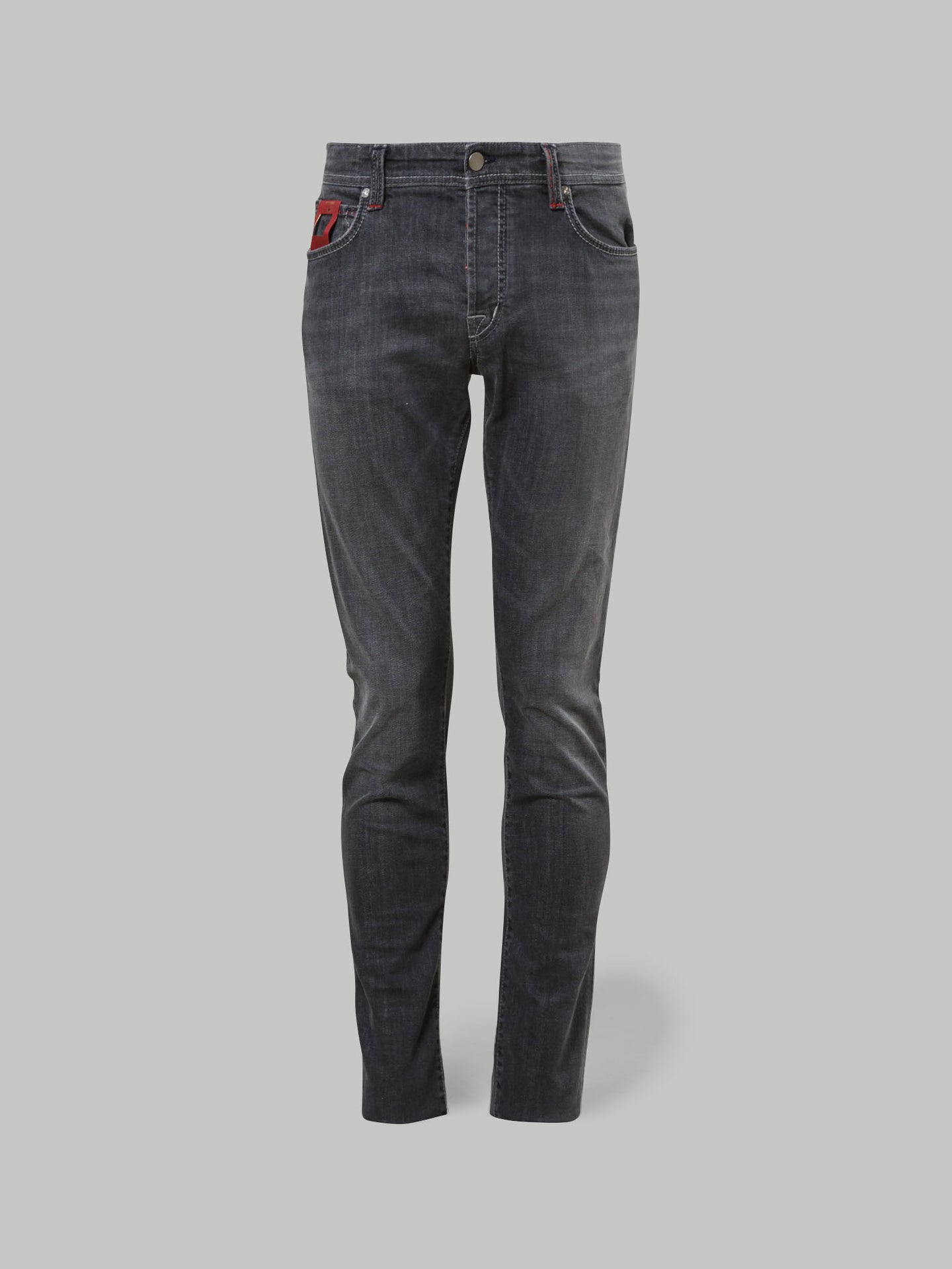 Tramarossa Leonardo Slim Fit 6 Moons Jean (Grey) - Union 22