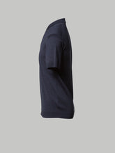 John Smedley Lydgate Polo (Charcoal and Grey Tipping)