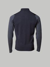 John Smedley Brightgate Polo (Charcoal and Grey)