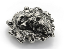 Elliot Rhodes Lion Buckle (Silver) - Union 22