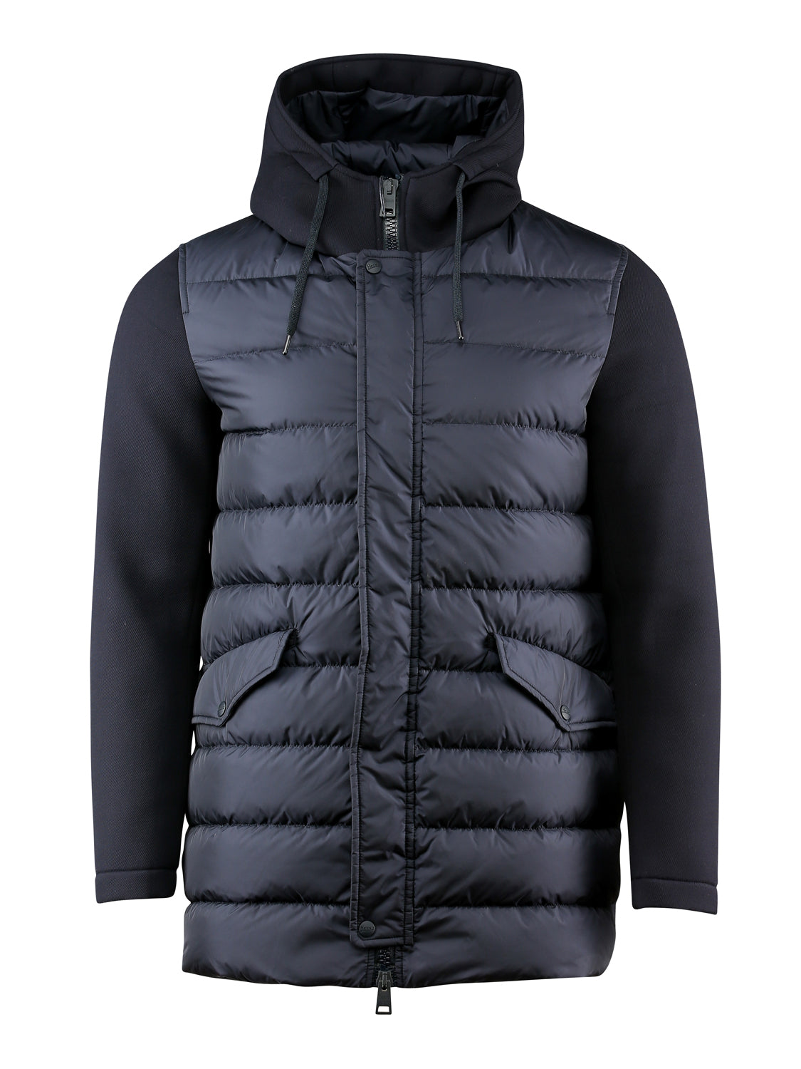 Herno Quilted Scuba Parka (Navy) - Union 22