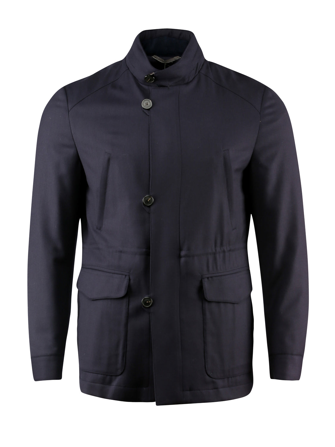 Corneliani Car Coat (Navy)