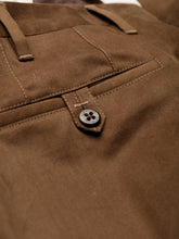 Corneliani Moleskin Trousers (Khaki Brown)