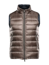Herno Quilted Reversible Gillet (Navy and Light Bronze)