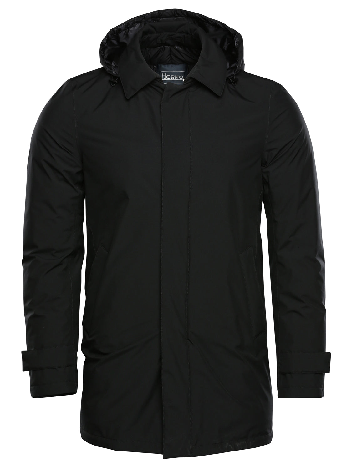 Herno Laminar Trench Coat (Black) - Union 22