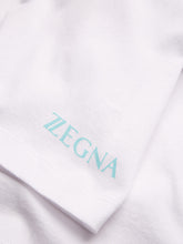 Z Zegna Mercerised Embroidery T-Shirt (White)