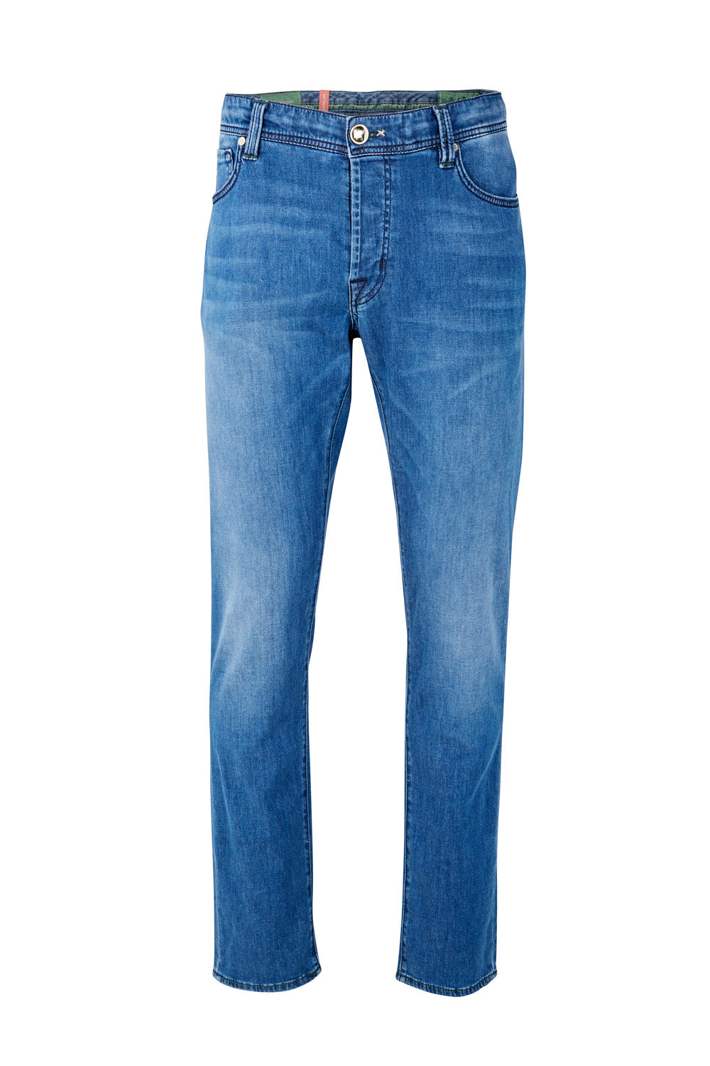 Tramarossa Leonardo Luxury Soft Touch Silk Mix Jean (Blue)
