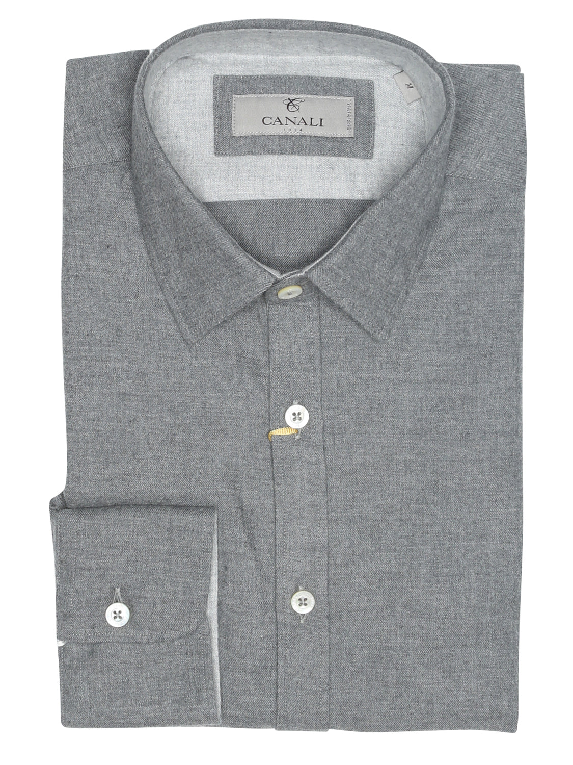 Canali Modern Fit Casual Shirt (Grey)