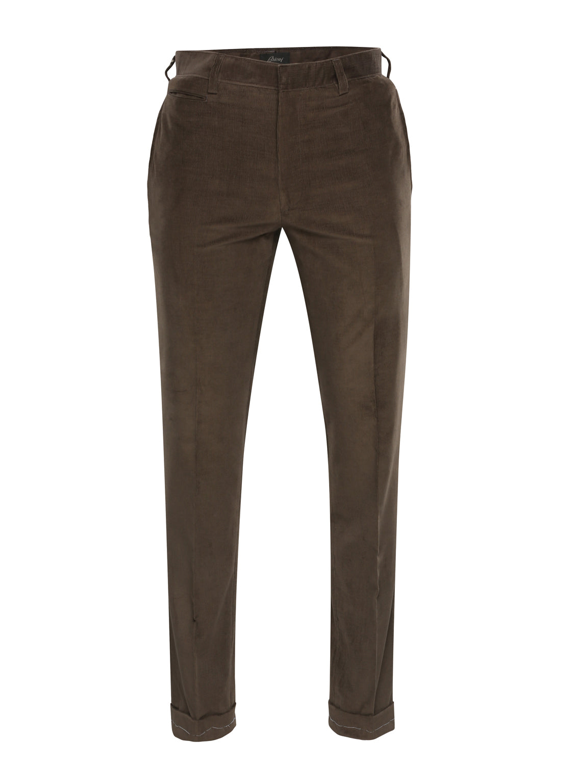 Brioni Corduroy Trousers (Brown)