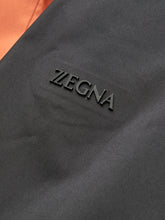 Z Zegna Softshell Hooded Jacket (Block Colour Orange)