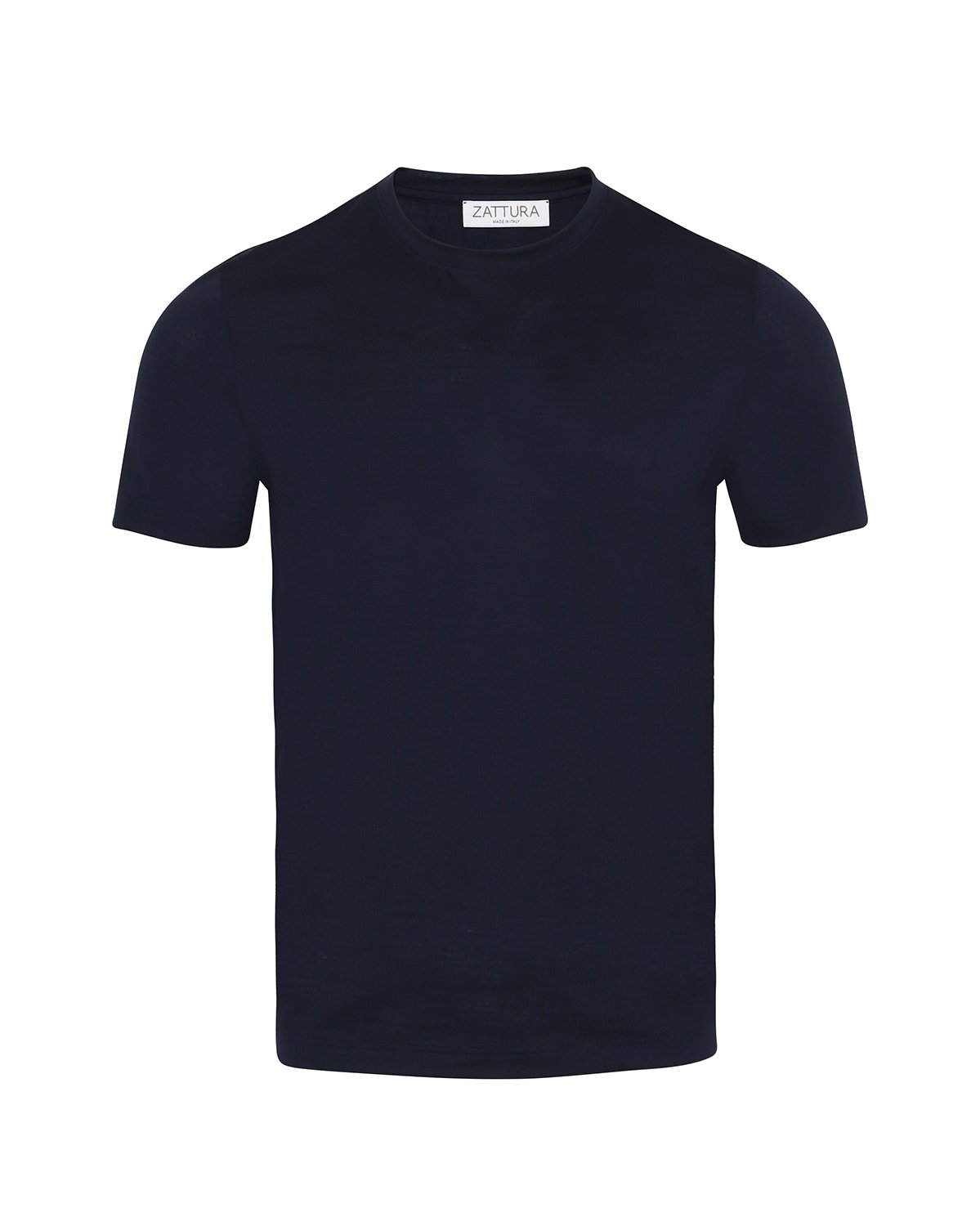 Zattura Wool T-Shirt (Navy) - Union 22