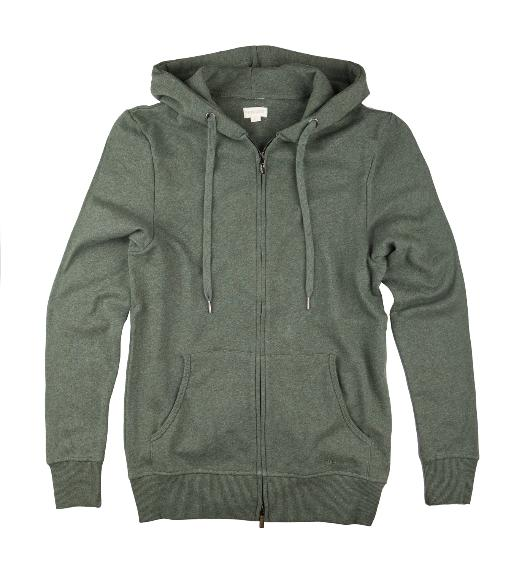 The Product Zip Hoodie (Green) - Union 22