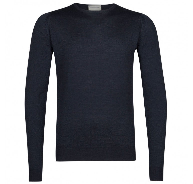 John Smedley Lundy Pullover (Midnight) - Union 22