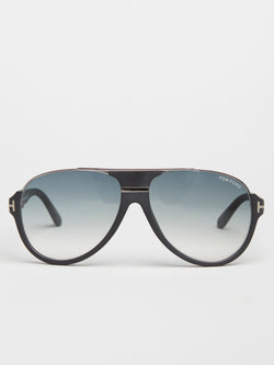 Tom Ford Dimitry Matt Black Sports Aviator (TF0334 02W)