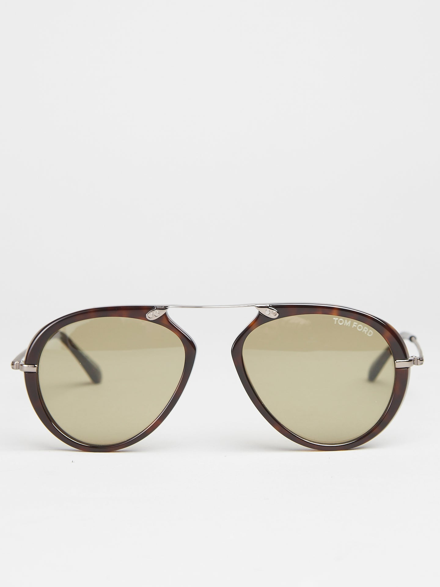 Tom Ford Acetate Aaron Metal Dark Havana (TF0473 52N)