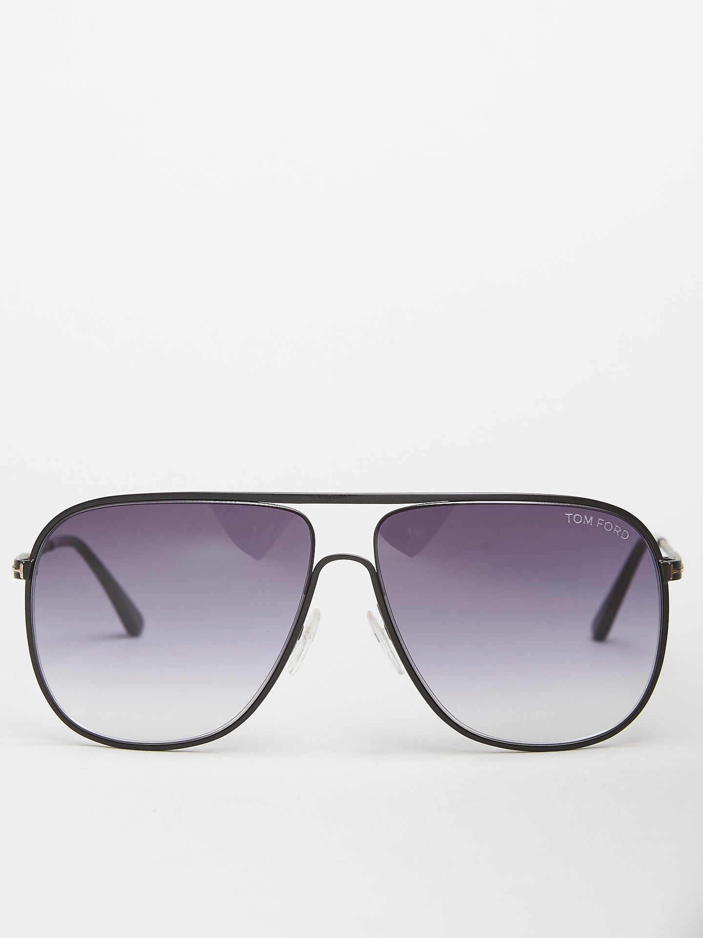Tom Ford Dominic Black Square Aviator (TF0451 02B)
