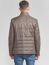 Corneliani ID Quilted Jacket with Chest Piece (Sand Taupe)