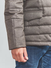 Corneliani ID Quilted Jacket with Chest Piece (Sand Taupe) - Union 22