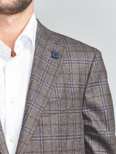 Lardini Super Soft Construction Prince of Wales Blazer - Union 22