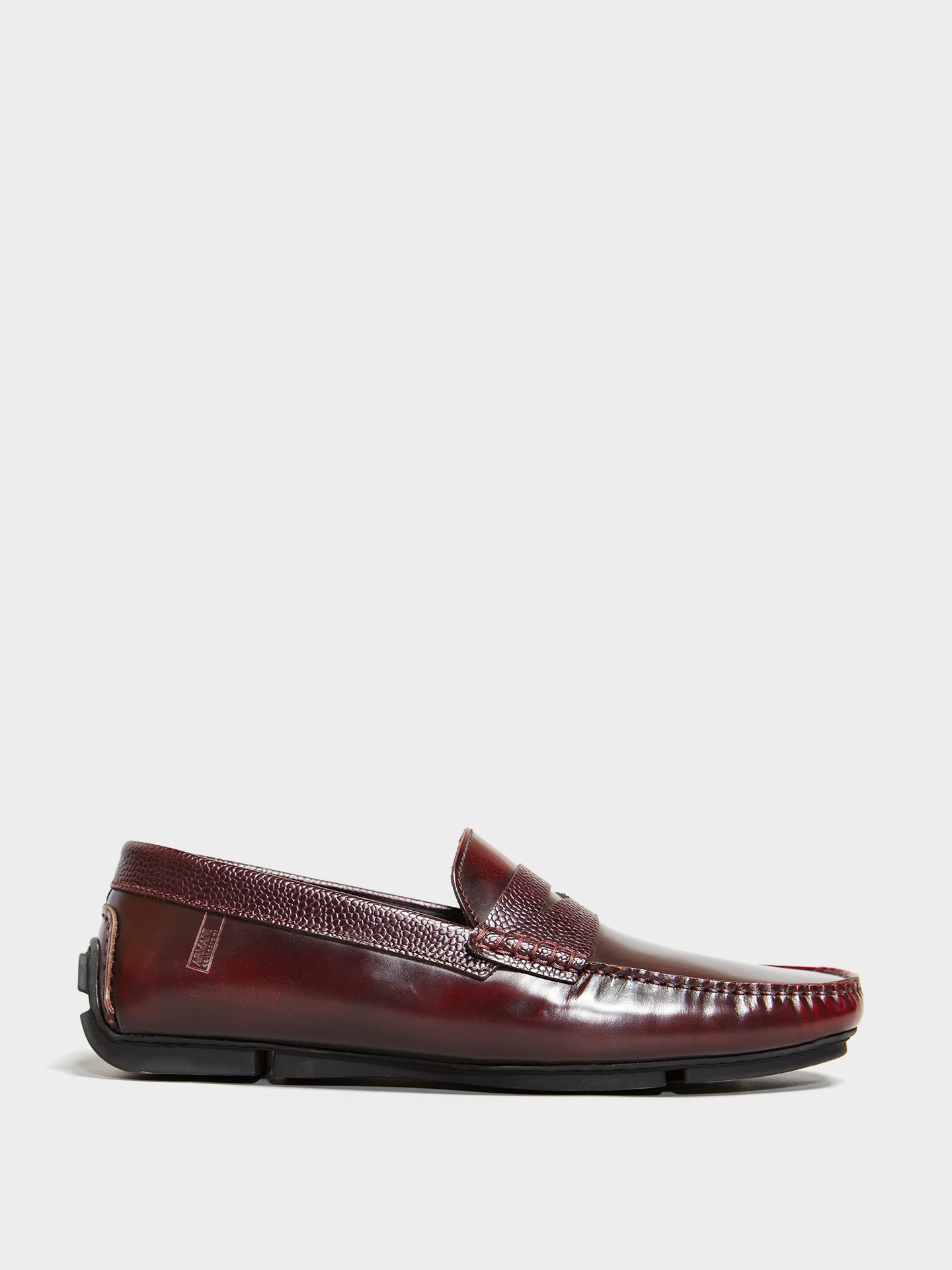 Armani Driving Shoe (Bordeaux)