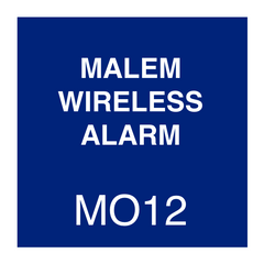 Malem Wireless Alarm Instructions