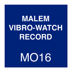 Malem Vibro-Watch Record Instructions