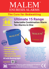Malem MO4S Ultimate Selectable Bedwetting Alarm