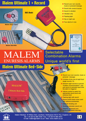 Malem Recordable & Bed-Side Bedwetting Alarms