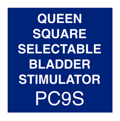 Queen Square Selectable Bladder Stimulator Instructions