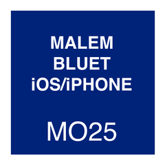 Malem Blue T iOS Instructions