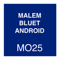 Malem Blue T Android Instructions
