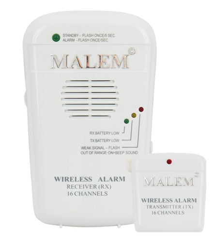 Malem™ Wireless Alarm + Record (MO7)