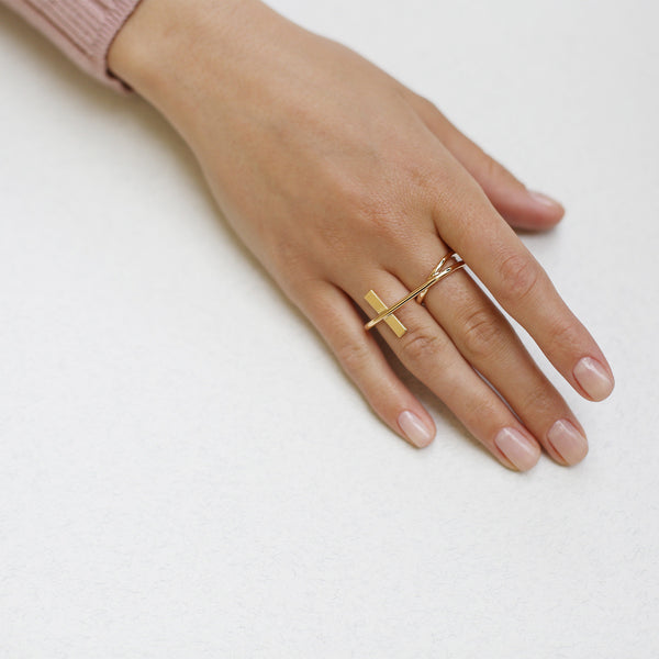 Rebel Double Ring 01000194
