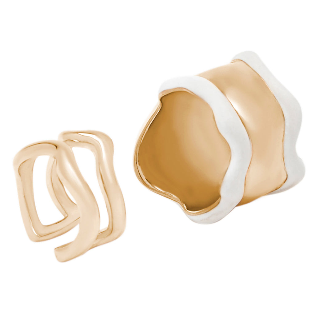 Lava Rings - set of two 01000231
