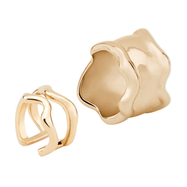 Lava Rings - set of two 01000234