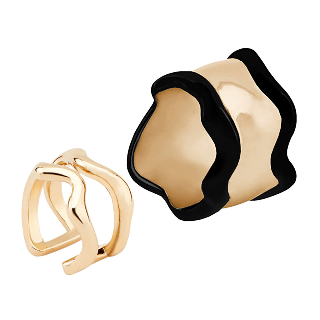 Lava Rings - set of two 01000237